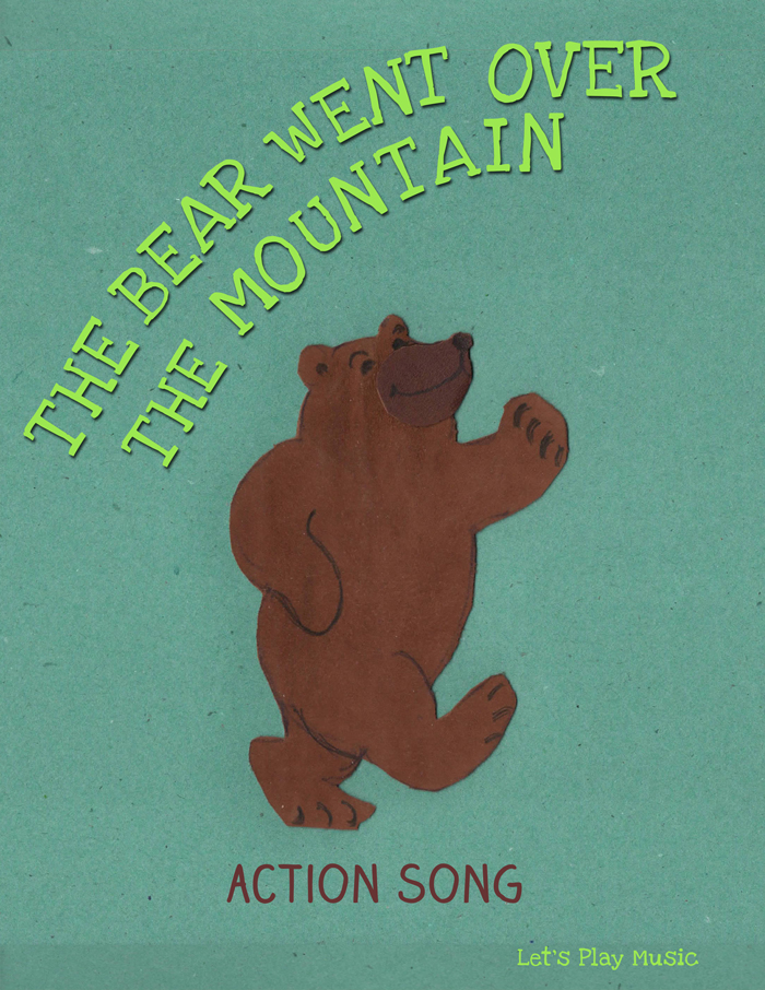 The Bear Went over The Mountain action song