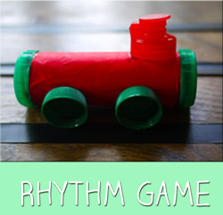Tapping Train Rhythm Game