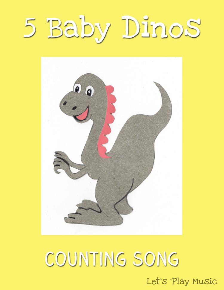 5 Baby Dinos Counting Song