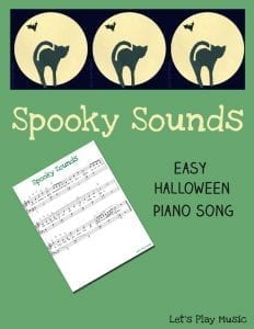 easy halloween piano song - spooky sounds