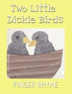 two little Dickie birds finger rhyme