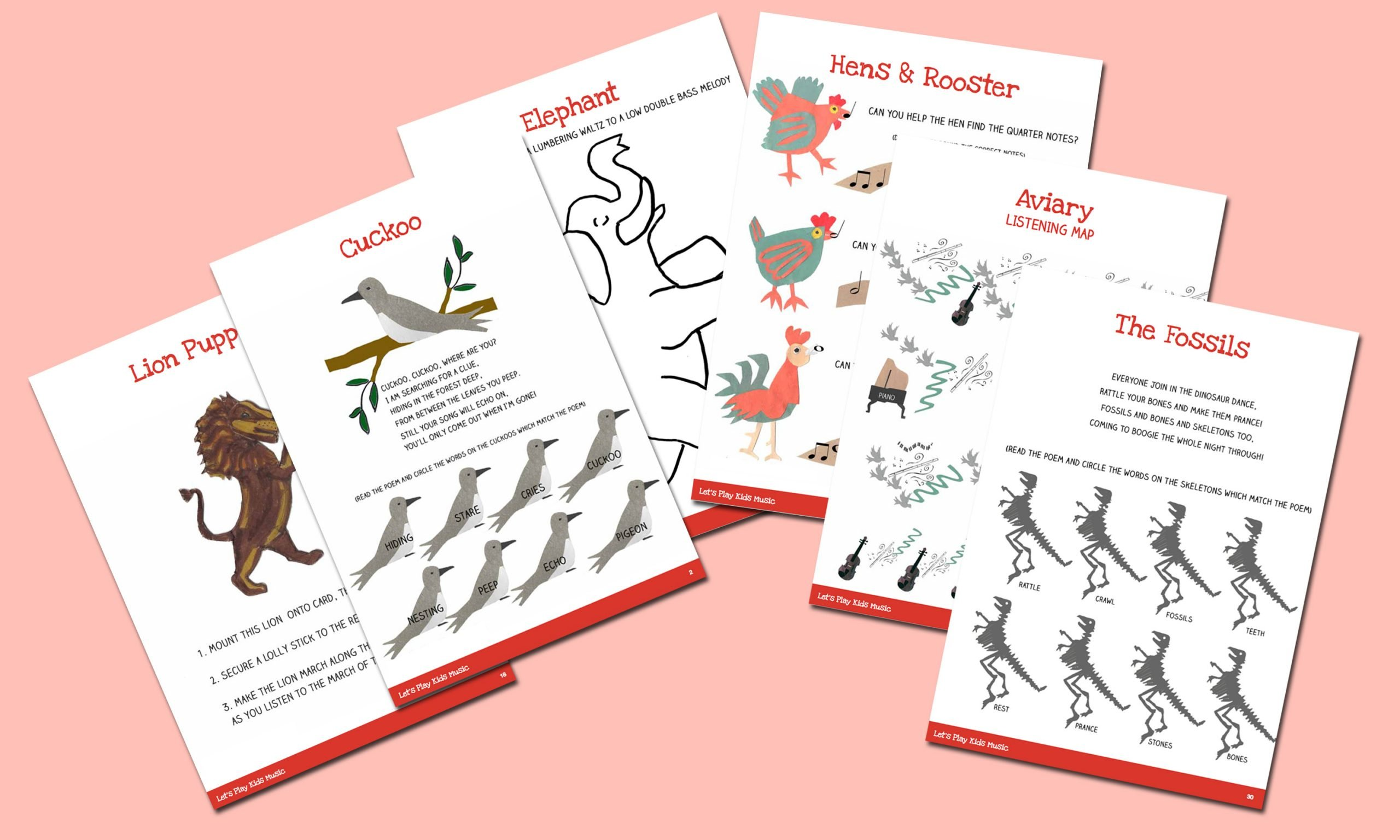 The Carnival Of The Animals Teaching Bundle Let S Play Music
