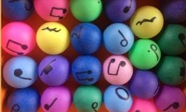 Fun Musical Games With Ping Pongs