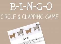 Bingo Circle and clapping game